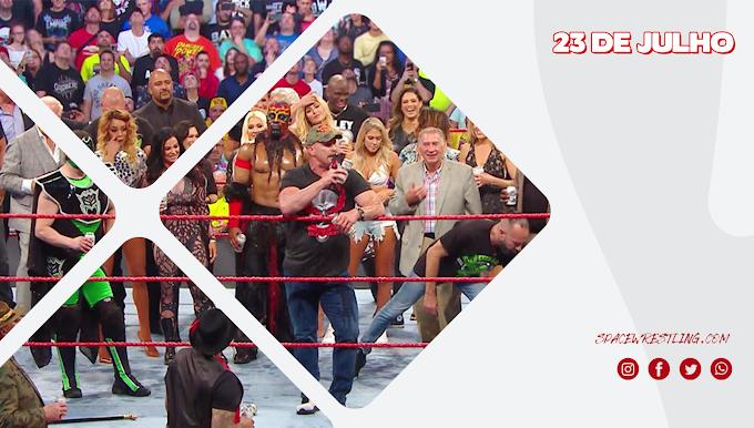 Replay: Monday Night Raw em Português 22/07/2019