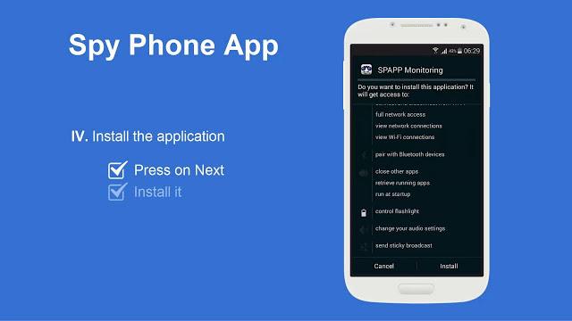 تحميل برنامج سباى فون للأيفون برابط مباشر