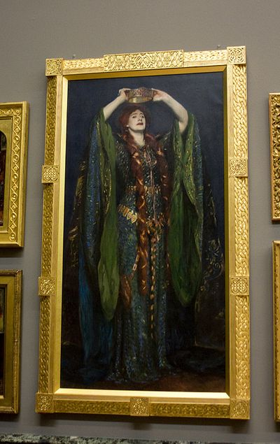 Pre Raphaelite Art Ellen Terry As Lady Macbeth By John