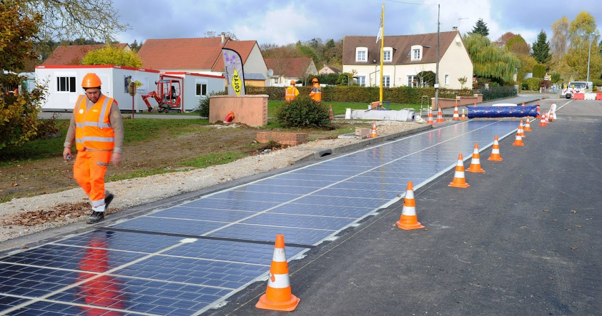 Solar Roads Being Tested At 100 Sites
