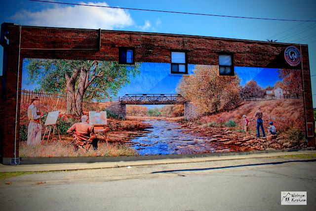 Murale w toronto Islington ART