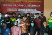 Koperasi Bandung Tertib (KOBANTER) Baru, Dukung Protokol Kesehatan