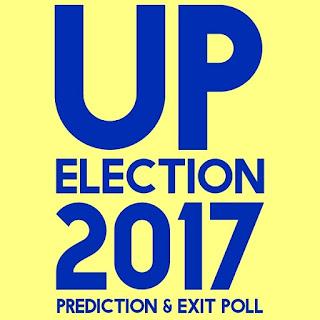 उत्तर प्रदेश चुनाव 2017 की भविष्यवाणी और एग्जिट पोल UP Election 2017 Prediction and Exit Poll in Hindi