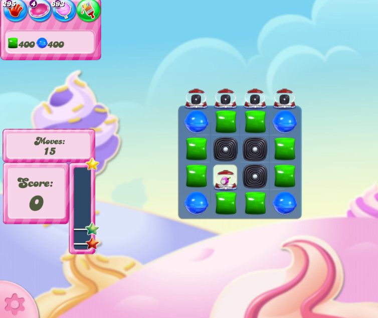 Candy Crush Saga level 2838