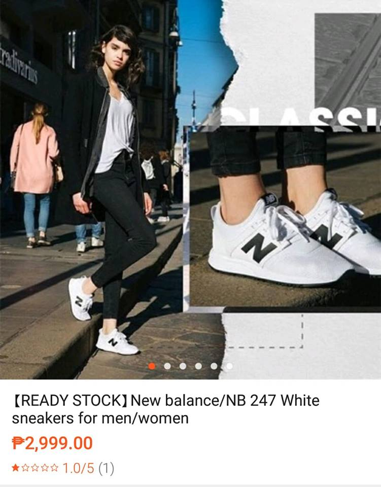 New balance/NB 247 White sneakers for men/women. I just learned recently  that I should buy