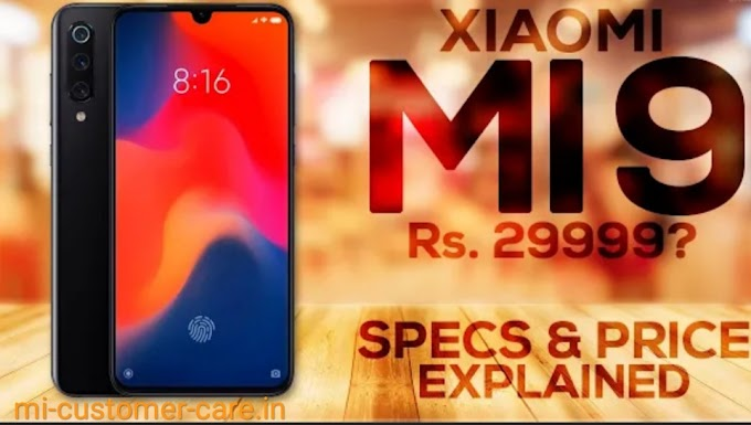 What is the price of MI 9 in India?