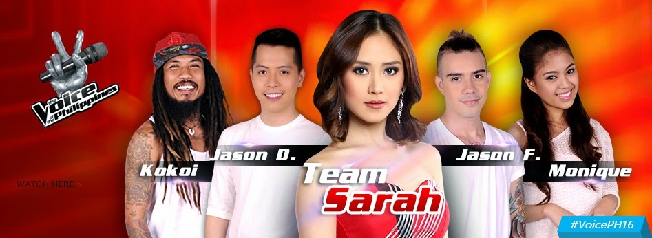 Team Sarah Live Shows