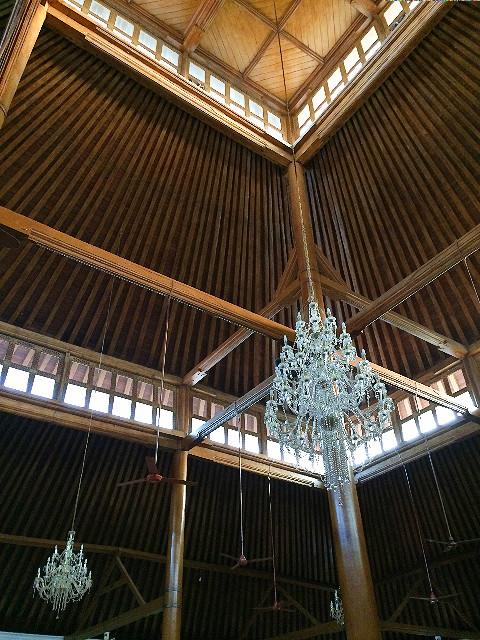 interior masjid agung solo