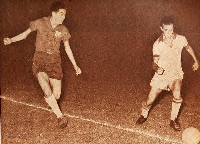 Brasil y Chile en Campeonato Sudamericano de 1959