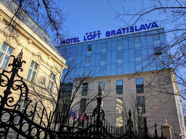 Where to stay in Bratislava in January: Hotel Loft Bratislava