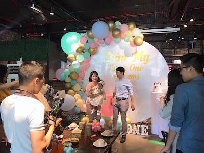 Trang trí và tổ chức sinh nhật cho bé Thảo My