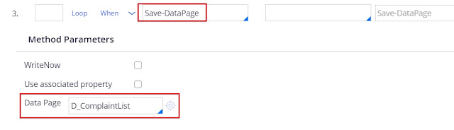 Save-Datapage  method in activity