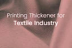 Important thickener used in printing