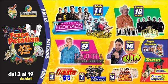 programa de la Fexpo Petatlán