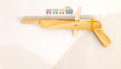 Homemade Popsicles Toy Guns