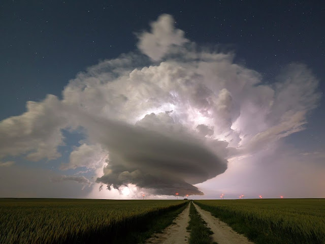 Supercell over France