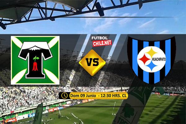 Mira Deportes Temuco vs Huachipato en vivo y online por la Segunda Fase Ida de la Copa Chile