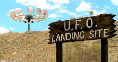 The 'UFO Crash Site' in Emery County