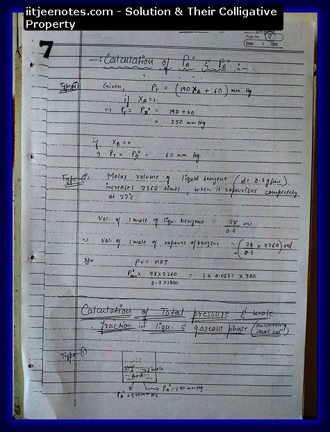 Solution and Their Colligative Property7