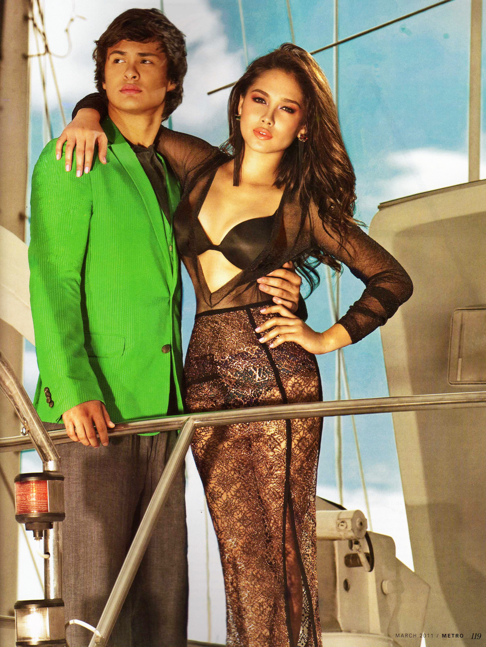 Maja Salvador Sexy Images By The Boat-4778