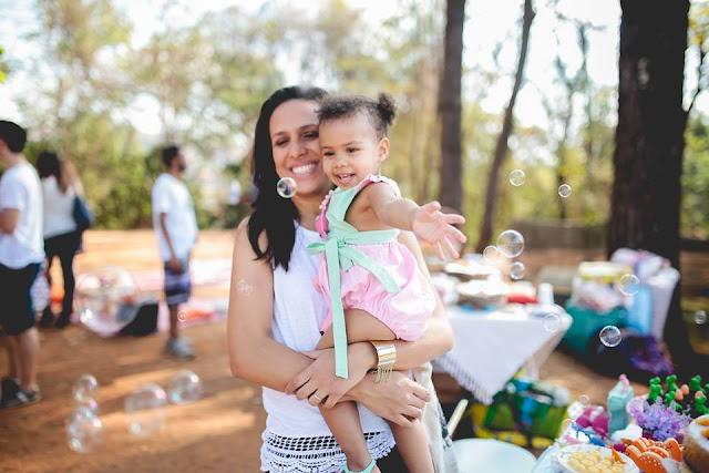 Aniversário Tema Dinossauro - Meninas - DIY - Belo Horizonte - festa no parque