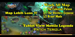 Tutorial Tablet View Mobile Legends Patch Terizla Work All Maps