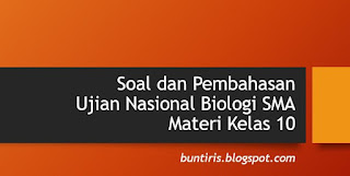 Soal dan Pembahasan UN Biologi