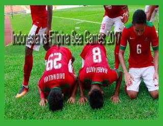 Hasil Akhir Pertandingan Indonesia vs Filipina Sea Games 2017