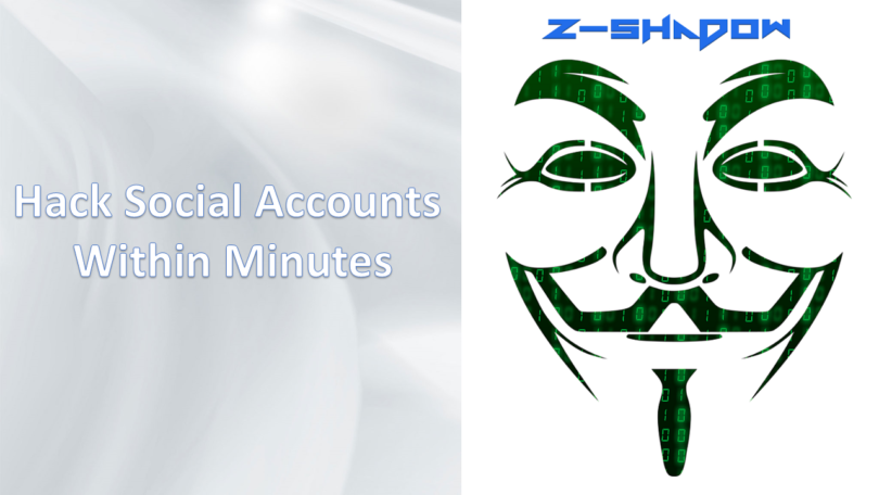 Facebook Hacking With Z-Shadow - Super Tech