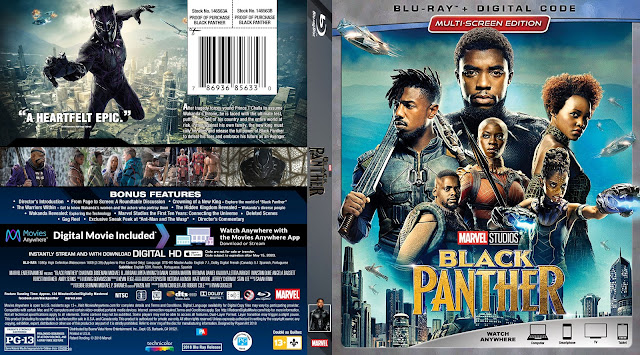 Black Panther Bluray Cover