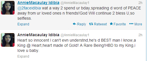 tuface birthday annie macaulay tweets