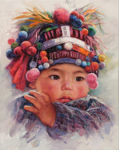 "Children Paintings By Chinese Painter ""Barry Yang"""