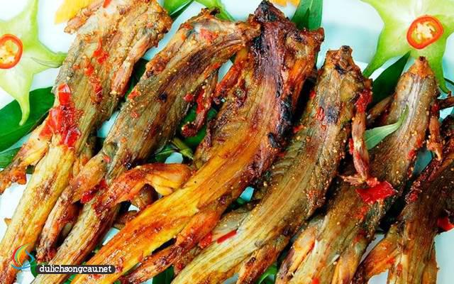 thịt dông nướng phú yên