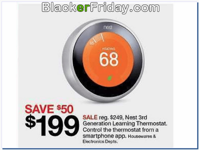 Nest thermostat deals black friday
