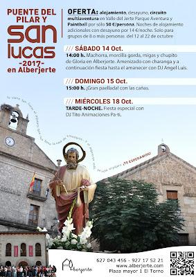 Oferta Puente del Pilar y San Lucas en el Valle del Jerte