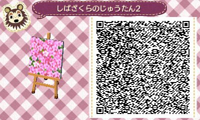 pattern azalée rose animal crossing new horizons