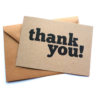 How To Write A Thank You Note  Thank You Wording