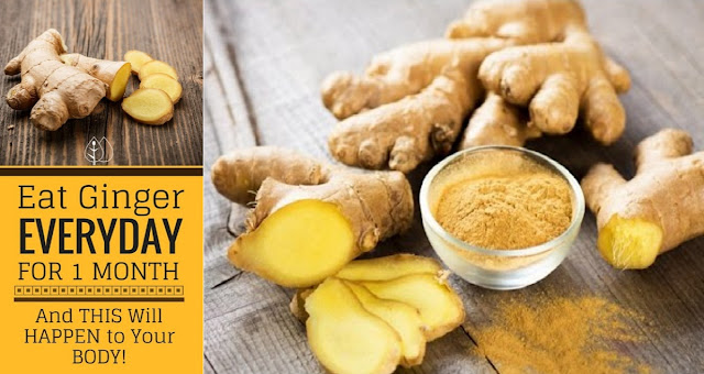 9 Incredible Things That Can Actually Happen To You When You Start Eating Ginger Every day!