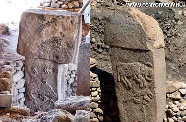 Régészeti bizonyítékot találtak a tömeges kihalásra Göbekli Tepe kőtömbjein