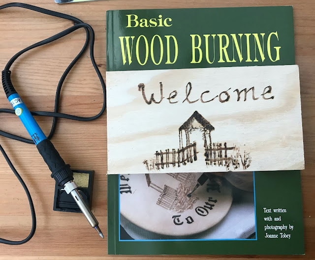 wood burning book