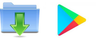 Mendownload aplikasi Android