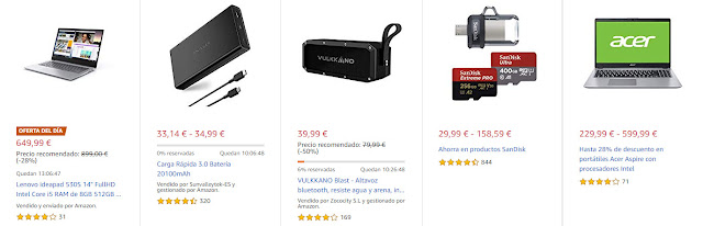 ofertas-13-08-amazon-cuatro-ofertas-flash-una-dia-cinco-destacadas