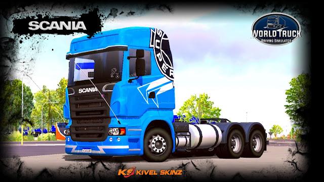 SCANIA R620 - AZUL SUPER