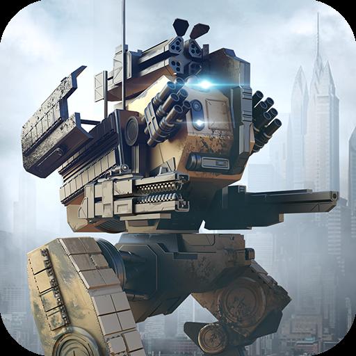 تحميل لعبه WWR: World of Warfare Robots مهكره اخر اصدار