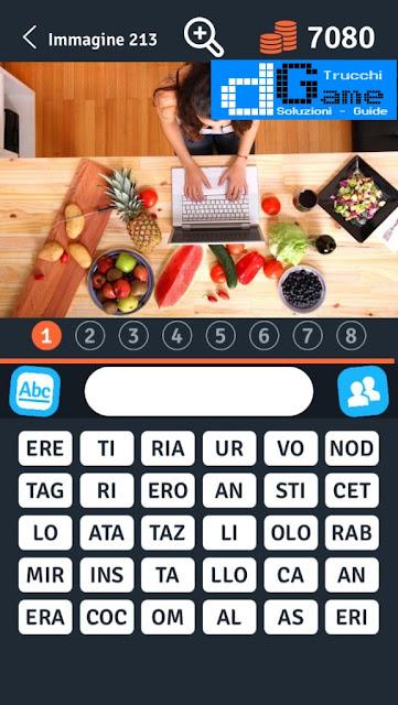 8 Parole Smontate soluzione livello 211-220