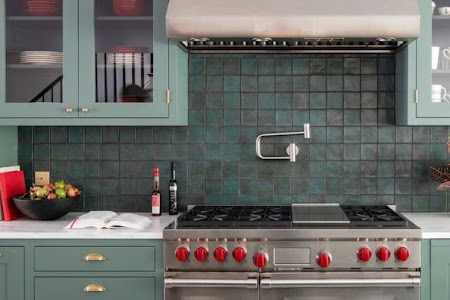 40 Ide Backsplash Dapur Cantik dengan Berbagai Style