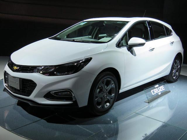 Novo Chevrolet Cruze Hatch 2017 - Branco