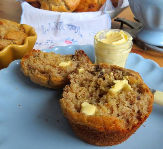 Sugar-Free Banana Nut Muffins