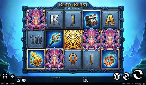 Main Gratis Slot Indonesia - Beat the Beast Kraken's Lair (Thunderkick)