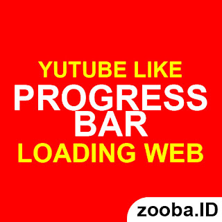 Membuat Progress Bar Loading Website Seperti Youtube